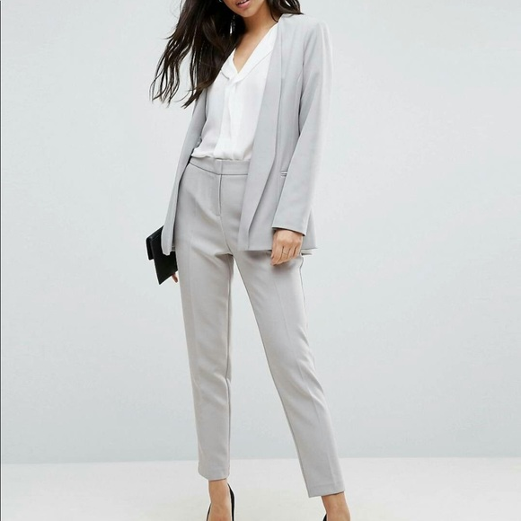 ASOS Pants - ASOS Light Grey Pant Suit
